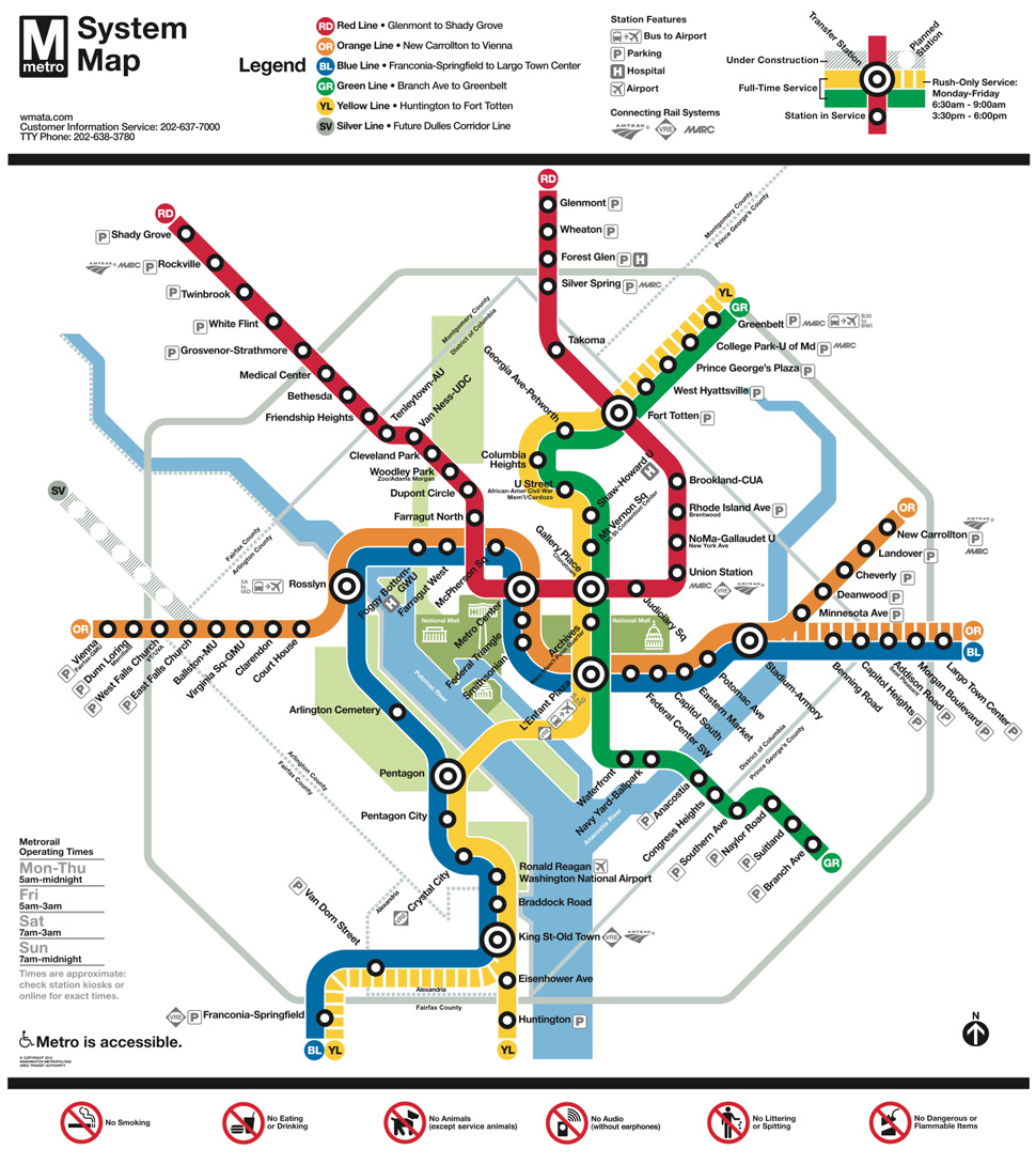 An Nyc Subway Map In The Style Of Washington D C S Chris Whong